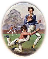 傳說中橄欖球運動的開創者