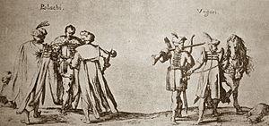 Pole and Hungarian cousins be - Johann Wilhelm Baur (Strasbourg-born painter, 1610–40), Poles and Hungarians, Czartoryski Museum, Kraków