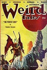 Weird Tales cover image for November 1948