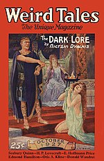 Weird Tales cover image for October 1927