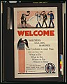 Welcome soldiers sailors marines LCCN2001700126.jpg
