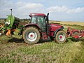 Well equipped tractor near Crook Ness - geograph.org.uk - 563130.jpg