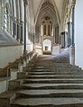 Wells Cathedral Stairs to Chapter House, Somerset, UK - Diliff.jpg