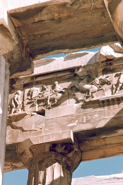 File:West Frieze of Parthenon.jpg