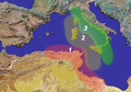 West Mediterranean navigation limit 509 BC.png