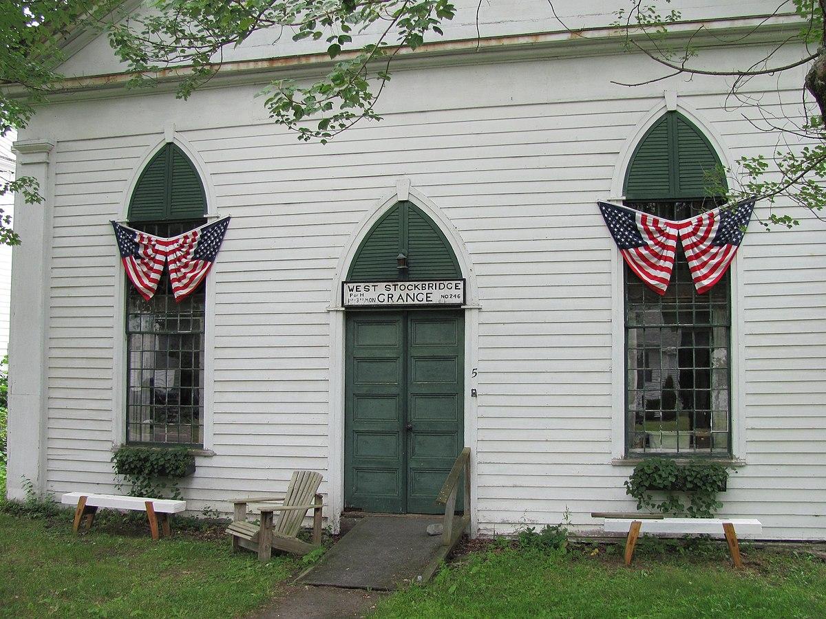 West Stockbridge Grange No. 246, West Stockbridge MA.jpg