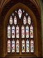 West window, St Mary's Church, Bruton - geograph.org.uk - 666103.jpg