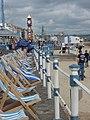 Weymouth- deckchairs on the promenade (geograph 3398410).jpg