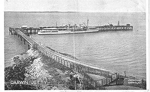 Stokes Hill Wharf - Stokes Hill Wharf in the 1920s