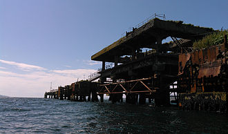 Whiddy Island - Disused tanker jetty