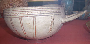 Pottery of ancient Cyprus - Cypriot White Slip Ware. British Museum