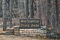 Whitewater State Park Welcome Sign, Minnesota (42014961432).jpg