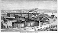 Whitin Machine Shop, 1897