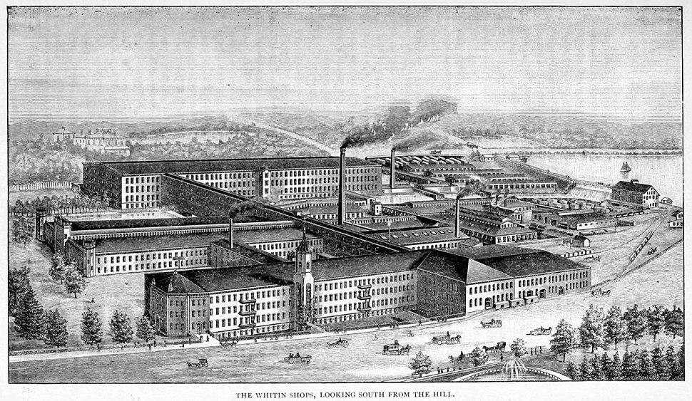Whithin Machine Shop, 1897