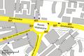 Wiatraczna Rondo in Warsaw map.png