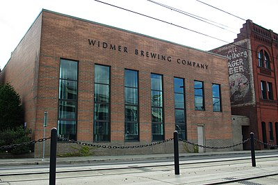 Widmer Brewing Company headquarters Widmer Brewing Company headquarters - Portland, Oregon.JPG
