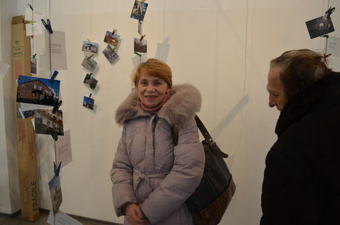 Wiki Loves Monuments Ukraine 2013 Exhibition 63.JPG
