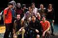 Wikimania 2009 - Richard Stallman en el teatro Alvear con asistentes (11).jpg