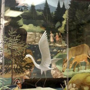 1941 in art - Image: Wildlife in White Mountain