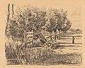 Wilgen en een hek bij een sloot, RP-P-1938-1038.jpg