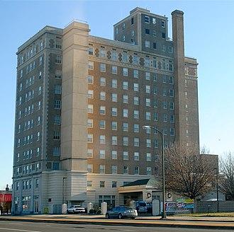 William Byrd Hotel - William Byrd Hotel, December 2011