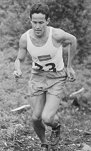 William Grut - At the London Olympic Games 1948
