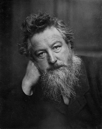 William Morris - William Morris by Frederick Hollyer, 1888
