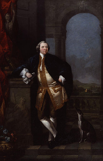 Edward Alcock (artist) - Edward Alcock, William Shenstone (1760), oil on canvas