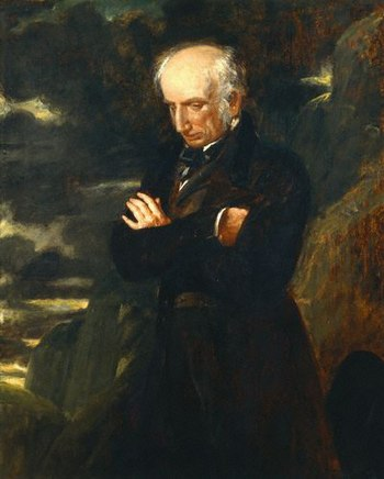 English: William Wordsworth by Benjamin Robert...