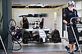 Williams FW36 in pit.jpg
