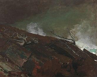 Arthur Jerome Eddy - Image: Winslow Homer Coast of Maine