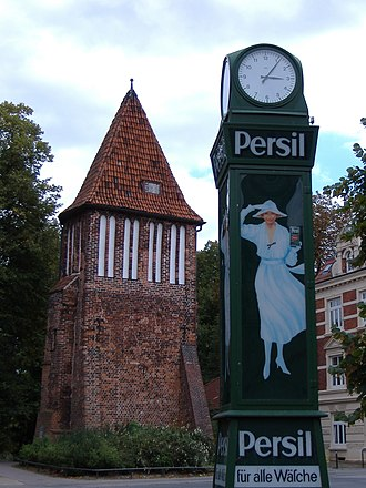 Henkel - Vintage Persil advertising in Wismar