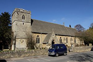 Wolvercote - Image: Wolvercote St Peter southwest