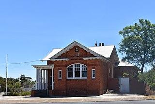 Woomelang Town in Victoria, Australia