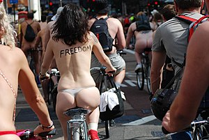 World Naked Bike Ride 2009 - London.jpg