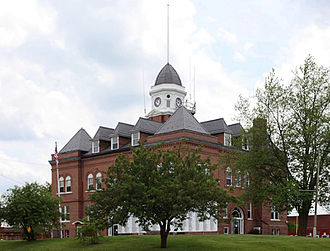 Grant City, Missouri - Worth County Courthouse
