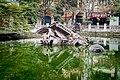Wreckage of B52 bomber, downtown Hanoi, Vietnam.jpg