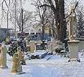 Wrocław, Ołtaszyn -Objawienia Fatimskie- cmentarz przykościelny kościoła pw. WNMP DSC00086.JPG
