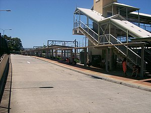 Wyong railway station - Bus interchange