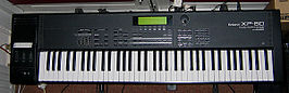 De Roland XP-80 Workstation