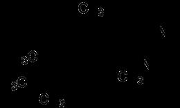 Strukturformel von Xylometazolin