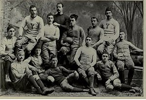 1882 Yale Bulldogs football team - Image: Yale football team, 1882