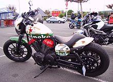 Yamaha Bolt Modified