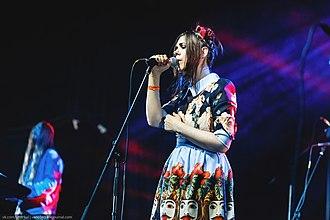 Theodor Bastard - Yana Veva - concert on July 19, 2015 at GlavClub, Saint Petersburg