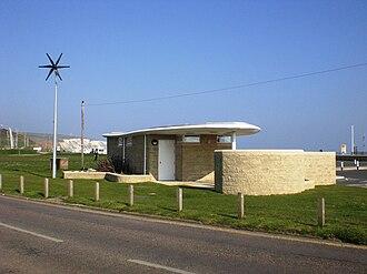 Yaverland - Yaverland eco toilets.