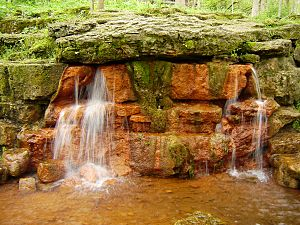 Yellow Springs in the Glen Helen Nature Preser...