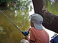 Youth fishing at an event at Prime Hook National Wildlife Refuge. Credit- USFWS (11713426605).jpg