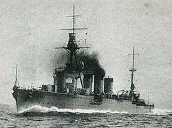 Light cruiser Yura
