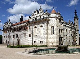 Czech Renaissance architecture - Litomyšl Château built by Ulrico Aostalli in 1575–81