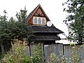 Zakopane Koscieliska 3 dom drewniany Czarna Owca04 A-24 M.JPG